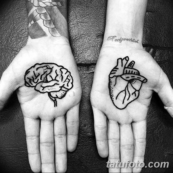 фото тату ладонь от 23.10.2017 №052 - palm tattoo - tatufoto.com
