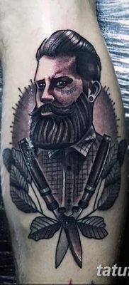 фото тату опасная бритва от 27.10.2017 №015 – tattoo dangerous razor – tatufoto.com
