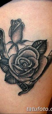 фото тату опасная бритва от 27.10.2017 №016 – tattoo dangerous razor – tatufoto.com