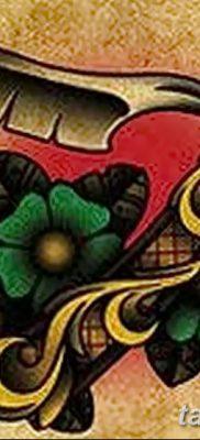фото тату опасная бритва от 27.10.2017 №029 – tattoo dangerous razor – tatufoto.com