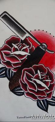 фото тату опасная бритва от 27.10.2017 №030 – tattoo dangerous razor – tatufoto.com