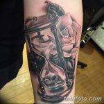 фото тату песочные часы от 21.10.2017 №008 - tattoo hourglass - tatufoto.com