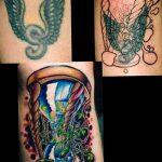 фото тату песочные часы от 21.10.2017 №009 - tattoo hourglass - tatufoto.com