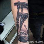 фото тату песочные часы от 21.10.2017 №016 - tattoo hourglass - tatufoto.com