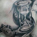 фото тату песочные часы от 21.10.2017 №037 - tattoo hourglass - tatufoto.com