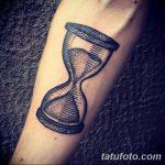 фото тату песочные часы от 21.10.2017 №041 - tattoo hourglass - tatufoto.com