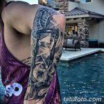 фото тату песочные часы от 21.10.2017 №058 - tattoo hourglass - tatufoto.com