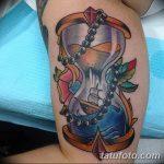 фото тату песочные часы от 21.10.2017 №063 - tattoo hourglass - tatufoto.com
