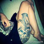 фото тату песочные часы от 21.10.2017 №064 - tattoo hourglass - tatufoto.com