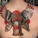 фото тату песочные часы от 21.10.2017 №075 - tattoo hourglass - tatufoto.com