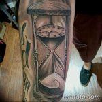фото тату песочные часы от 21.10.2017 №101 - tattoo hourglass - tatufoto.com