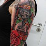 фото тату песочные часы от 21.10.2017 №103 - tattoo hourglass - tatufoto.com