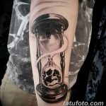 фото тату песочные часы от 21.10.2017 №105 - tattoo hourglass - tatufoto.com