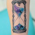 фото тату песочные часы от 21.10.2017 №106 - tattoo hourglass - tatufoto.com