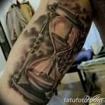 фото тату песочные часы от 21.10.2017 №108 - tattoo hourglass - tatufoto.com