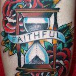 фото тату песочные часы от 21.10.2017 №109 - tattoo hourglass - tatufoto.com