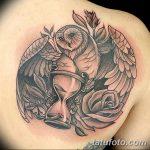 фото тату песочные часы от 21.10.2017 №114 - tattoo hourglass - tatufoto.com