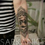 фото тату песочные часы от 21.10.2017 №120 - tattoo hourglass - tatufoto.com