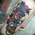 фото тату песочные часы от 21.10.2017 №125 - tattoo hourglass - tatufoto.com