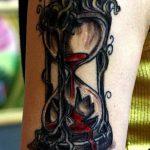 фото тату песочные часы от 21.10.2017 №126 - tattoo hourglass - tatufoto.com