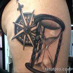 фото тату песочные часы от 21.10.2017 №132 - tattoo hourglass - tatufoto.com