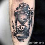 фото тату песочные часы от 21.10.2017 №142 - tattoo hourglass - tatufoto.com