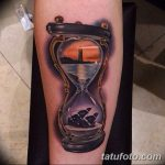 фото тату песочные часы от 21.10.2017 №149 - tattoo hourglass - tatufoto.com