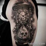 фото тату песочные часы от 21.10.2017 №156 - tattoo hourglass - tatufoto.com