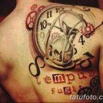фото тату песочные часы от 21.10.2017 №159 - tattoo hourglass - tatufoto.com