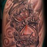фото тату песочные часы от 21.10.2017 №161 - tattoo hourglass - tatufoto.com