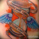 фото тату песочные часы от 21.10.2017 №166 - tattoo hourglass - tatufoto.com