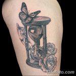 фото тату песочные часы от 21.10.2017 №169 - tattoo hourglass - tatufoto.com