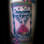 фото тату песочные часы от 21.10.2017 №171 - tattoo hourglass - tatufoto.com