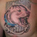 фото тату питбультерьер от 25.10.2017 №065 - tattoo pit bull terrier - tatufoto.com