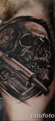 фото тату пуля от 23.10.2017 №018 – bullet tattoo – tatufoto.com