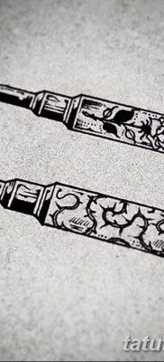 фото тату пуля от 23.10.2017 №028 – bullet tattoo – tatufoto.com