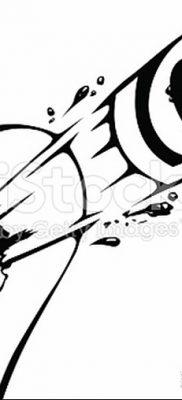 фото тату пуля от 23.10.2017 №030 – bullet tattoo – tatufoto.com