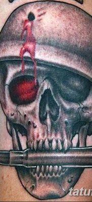 фото тату пуля от 23.10.2017 №040 – bullet tattoo – tatufoto.com