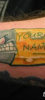 фото тату пуля от 23.10.2017 №044 – bullet tattoo – tatufoto.com