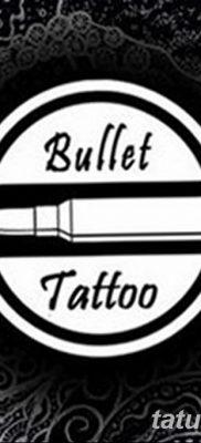 фото тату пуля от 23.10.2017 №049 – bullet tattoo – tatufoto.com