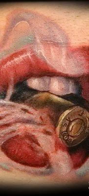 фото тату пуля от 23.10.2017 №063 – bullet tattoo – tatufoto.com