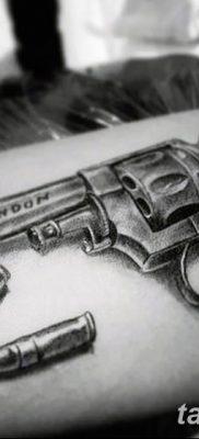 фото тату пуля от 23.10.2017 №072 – bullet tattoo – tatufoto.com