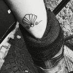 фото тату раковина от 07.10.2017 №020 - tattoo shell - tatufoto.com