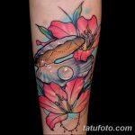 фото тату раковина от 07.10.2017 №086 - tattoo shell - tatufoto.com