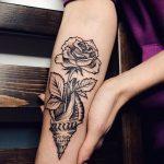 фото тату раковина от 07.10.2017 №104 - tattoo shell - tatufoto.com