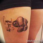 фото тату раковина от 07.10.2017 №156 - tattoo shell - tatufoto.com