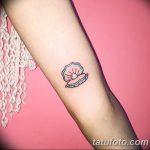фото тату раковина от 07.10.2017 №161 - tattoo shell - tatufoto.com