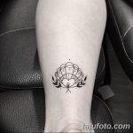 фото тату раковина от 07.10.2017 №170 - tattoo shell - tatufoto.com