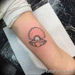фото тату раковина от 07.10.2017 №202 - tattoo shell - tatufoto.com