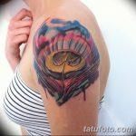фото тату раковина от 07.10.2017 №209 - tattoo shell - tatufoto.com